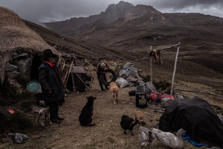 Mudança no clima das cordilheiras peruanas