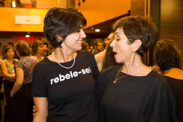 Esta é Manuela D'Ávila (PC do B)