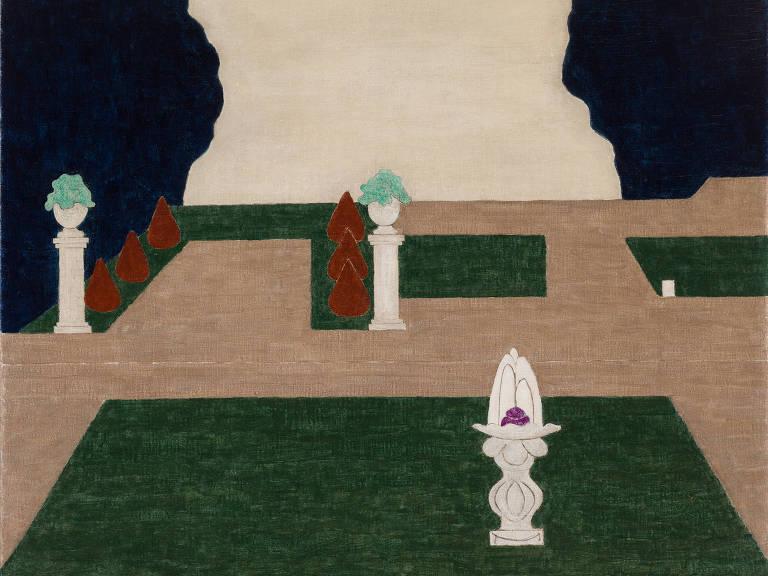Obra de Eleonore Koch exposta na Pinacoteca