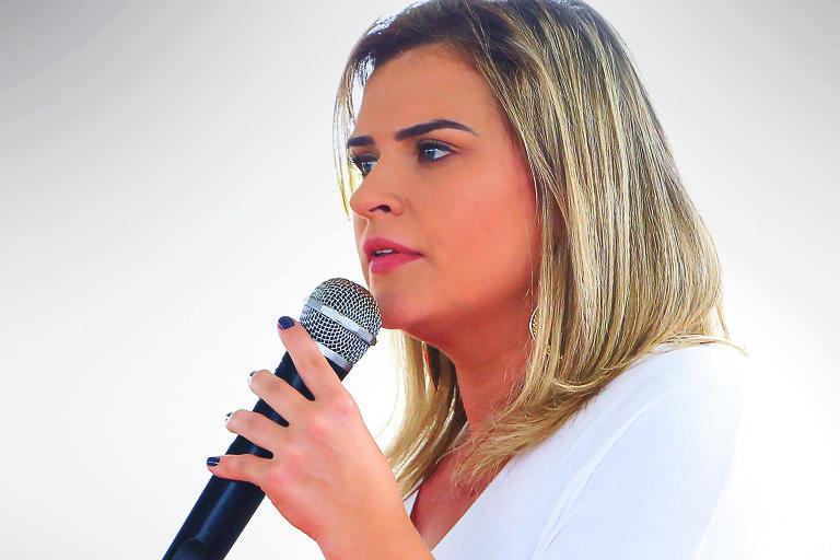 Marília Arraes, que disse que não vai desistir de sua candidatura ao governo de PE