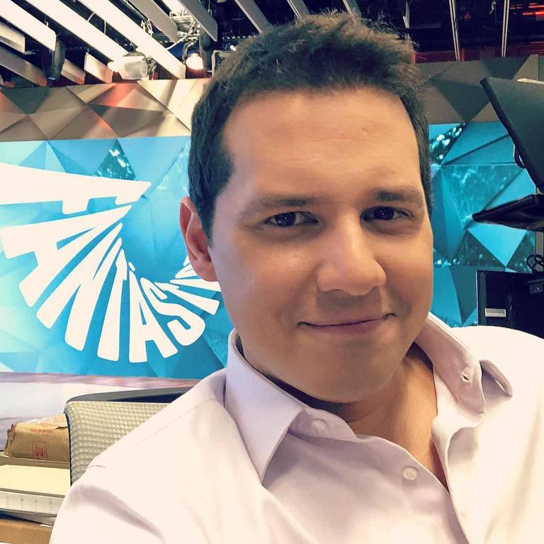 O jornalista Dony De Nuccio