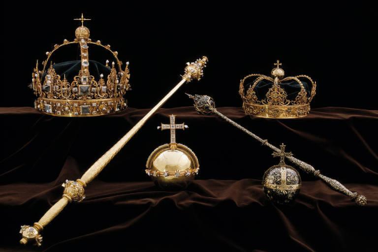Homens roubam joias da família real na Suécia e escapam de barco