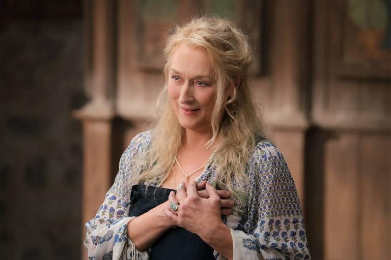 "Meryl Streep em ""Mamma Mia!"""