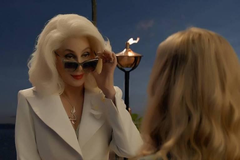 """Cher interpreta Ruby Sheridan em """"Mamma Mia! Lá Vamos Nós de Novo"""""""
