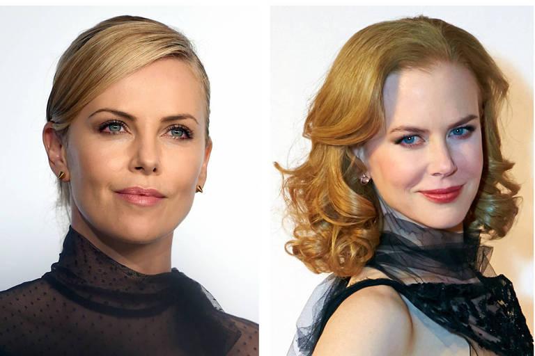 Charlize Theron e Nicole Kidman interpretarão Megyn Kelly e Gretchen Carlson, respectivamente