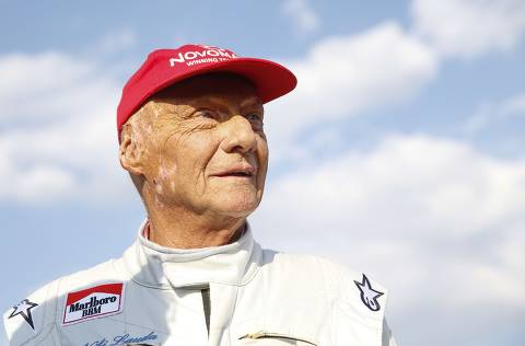 (FILES) In this file photo taken on June 30, 2018 Austrian Formula One legend Niki Lauda attends the
