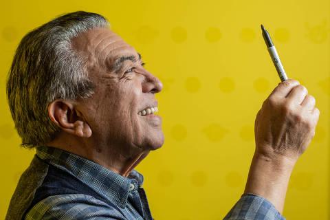 SÃO PAULO, SP, 31.07.2018 - O cartunista Mauricio de Sousa. Mauricio Araújo de Sousa é um cartunista e empresário brasileiro. É um dos mais famosos cartunistas do Brasil, criador da Turma da Mônica e membro da Academia Paulista de Letras. (Foto: Bruno Santos/Folhapress)