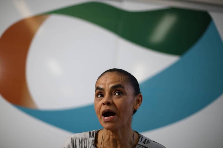 Marina Silva em entrevista à Folha