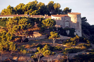 FILE PHOTO: General view of the Fort de Bregancon in Bormes-les-Mimosas