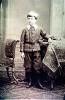 O psicanalista Otto Gross com cerca de oito anos de idade, por volta do ano de 1885