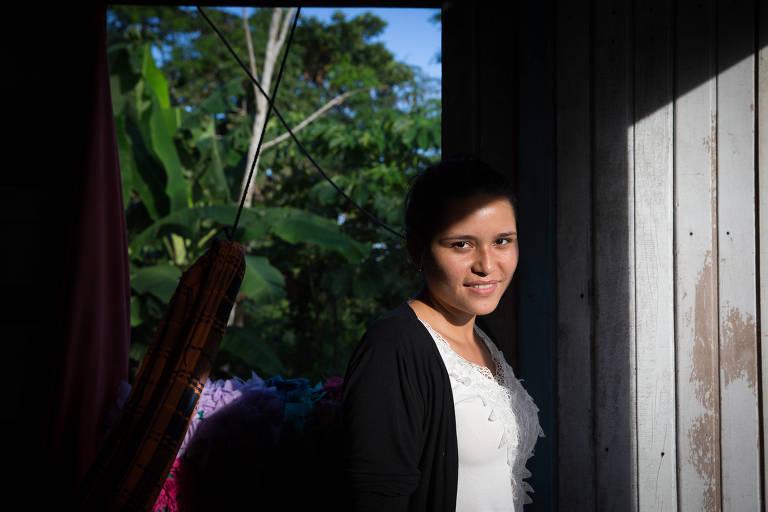Ribeirinhos da Amazônia na universidade