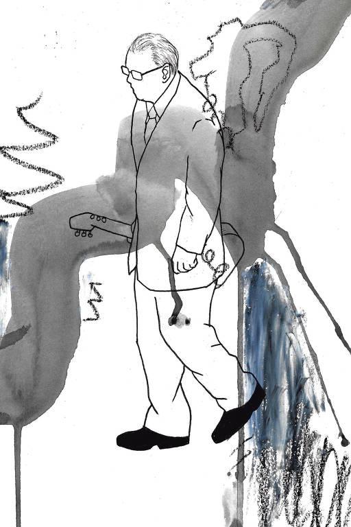 Ilustração de Higo Joseph para a capa da Ilustríssima