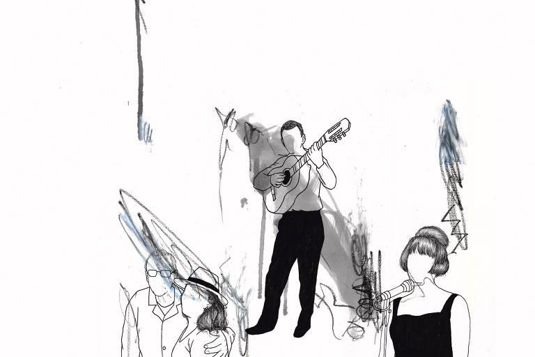 Ilustração de Higo Joseph para a Ilustríssima