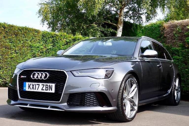 O Audi RS6 que foi usado pelo príncipe Harry