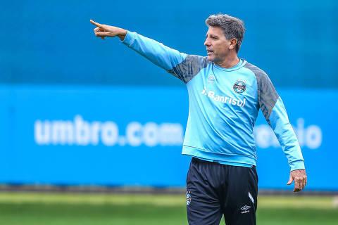 Renato Gaúcho deve completar dois anos no comando do Grêmio em setembro