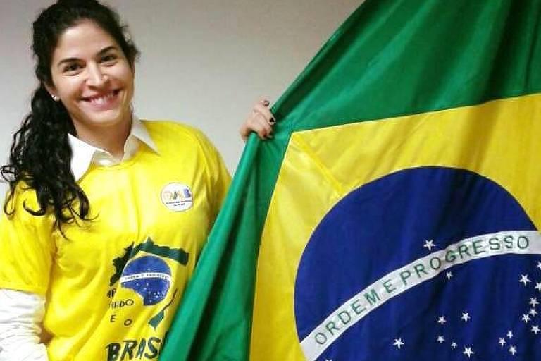 A médica Mônica Bahia, do MBL, que foi anunciada como vice na chapa do DEM ao governo baiano