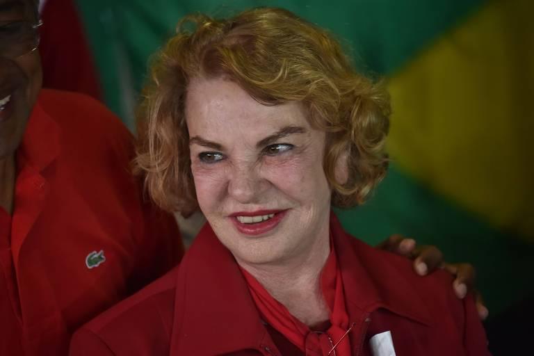 Ex-primeira-dama Marisa Letícia, esposa do ex-presidente Lula