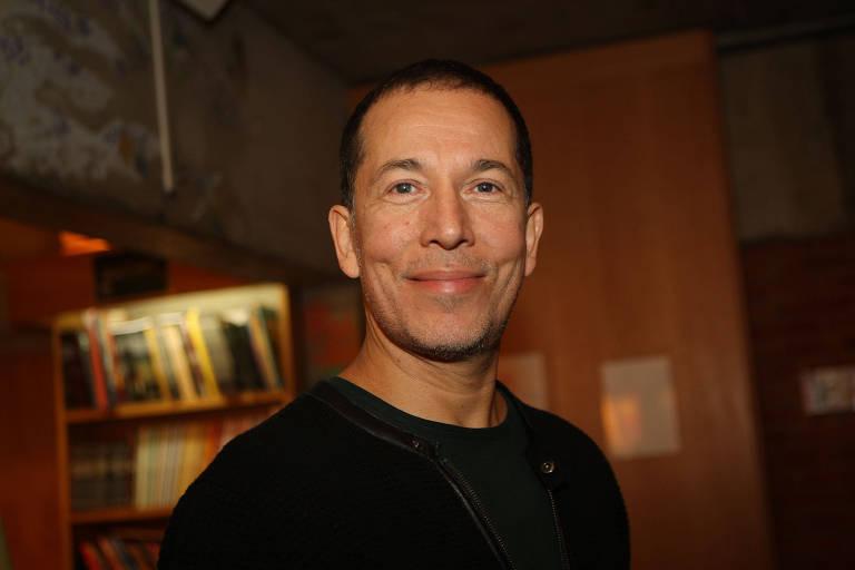 O escritor e diretor Miguel De Almeida