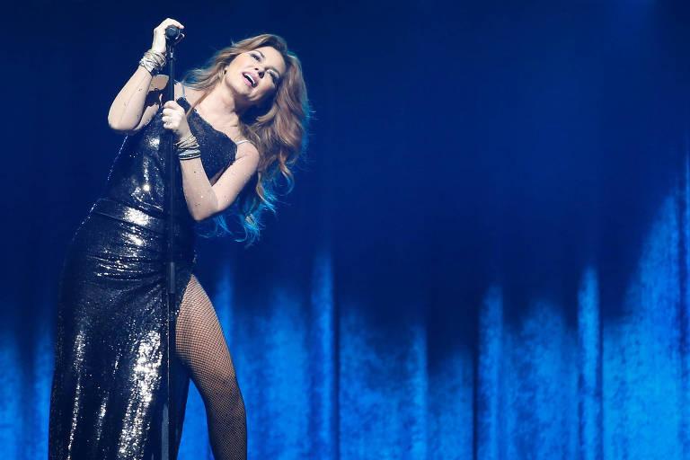 Shania Twain apresenta a nova Now Tour, em Los Angeles