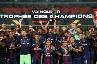 French Super Cup Trophee des Champions - Paris St Germain v AS Monaco