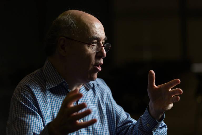 Milionário que criou linguagem de computação, Stephen Wolfran, falou à Folha no Rio de Janeiro, durante o Congresso Internacional de Matemática