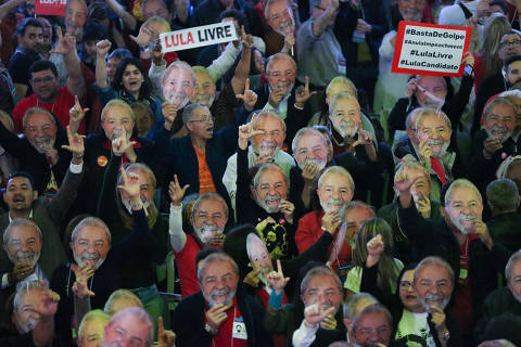 Lula lidera intenções de voto, seguido por Bolsonaro, aponta pesquisa CNT