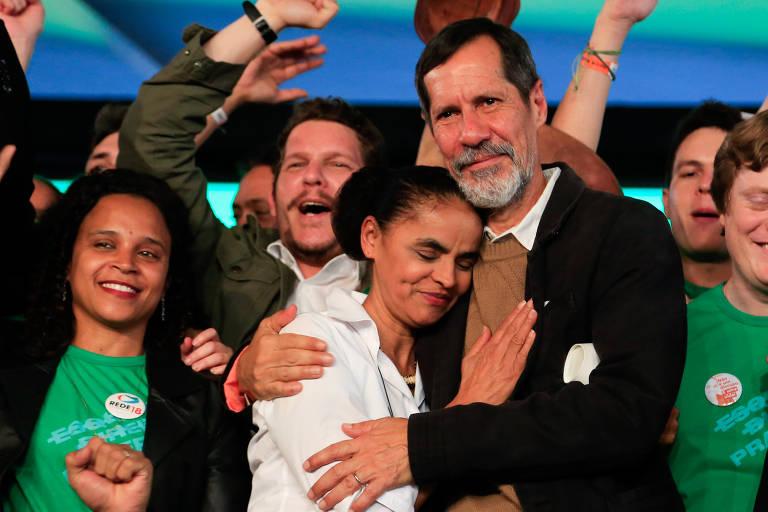 Convenção que oficializou candidatura de Marina Silva (Rede)