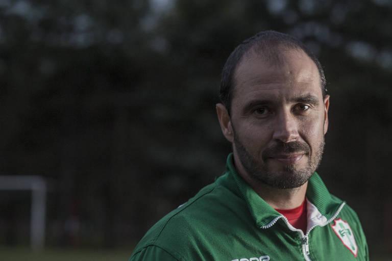Alan Aal, técnico da Portuguesa, que vai tentar levar o time ao título da Copa Paulista 2018
