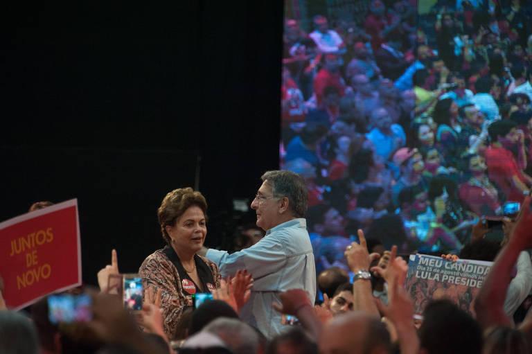 Dilma lança candidatura em MG ao lado de Pimentel