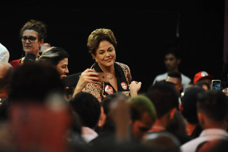 Dilma lança candidatura em MG