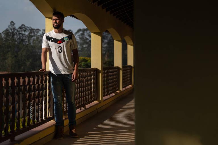 Ramon Saro, 27, jogador de futebol revelado pelo Paraná que atuou no Timor-Leste