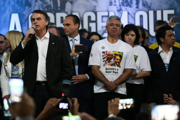 Bolsonaro anuncia candidato a vice