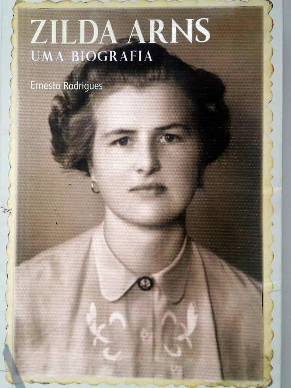 Biografia recém-lançada traz imagem de Zilda Arns jovem na capa