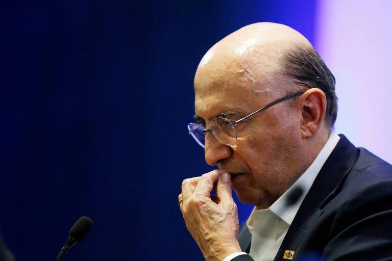Henrique Meirelles, candidato do MDB à Presidência, participa de debate em Brasília com outros presidenciáveis