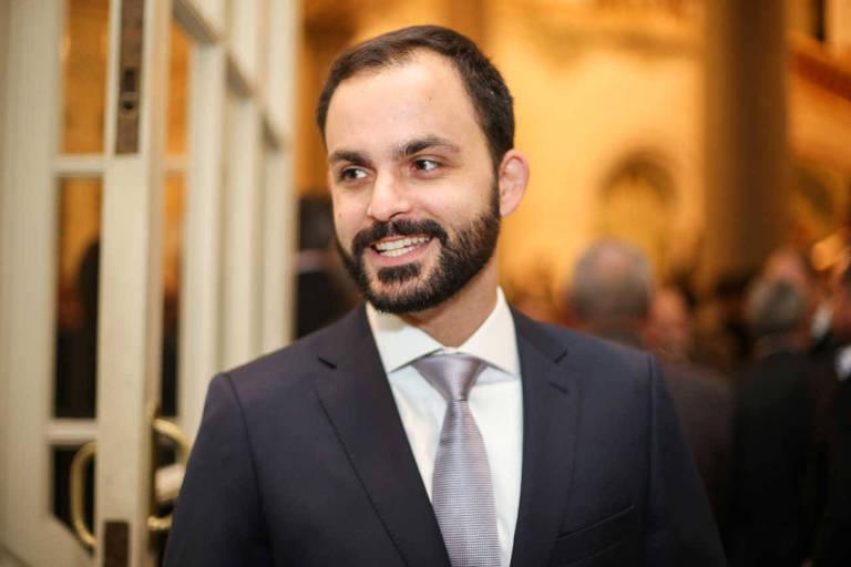 O diretor-executivo do Instituto Sou da Paz, Ivan Marques, em evento em São Paulo