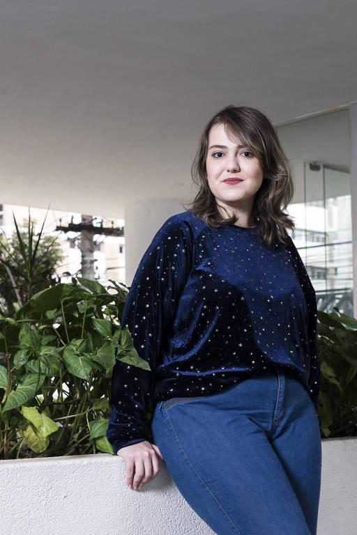 A escritora Iris Figueiredo, 25, que já sofreu para conseguir um bom atendimento médico