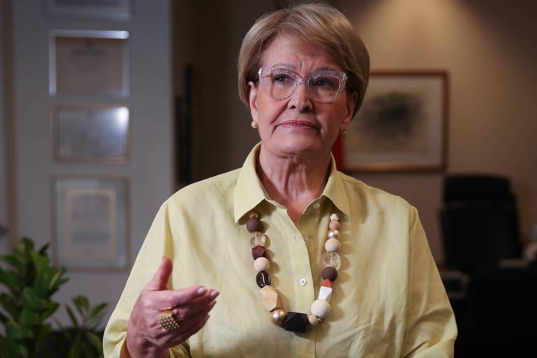 A senadora gaúcha Ana Amélia Lemos (PP), que será vice na chapa do tucano Geraldo Alckmin