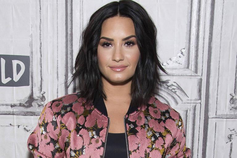 A cantora Demi Lovato