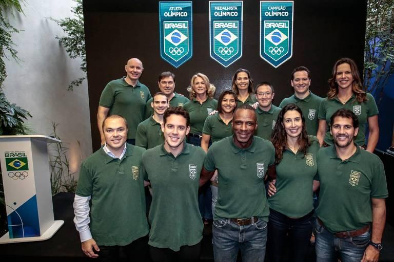 Atletas olímpicos do Brasil