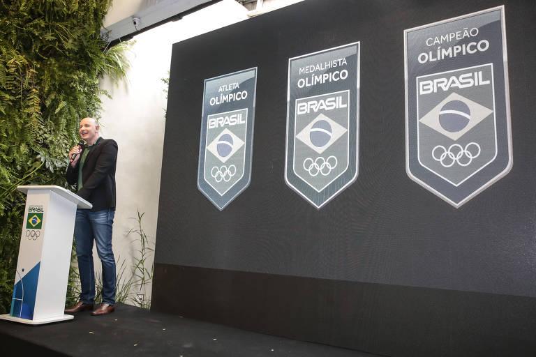 Lançamento do selo Atleta Olímpico