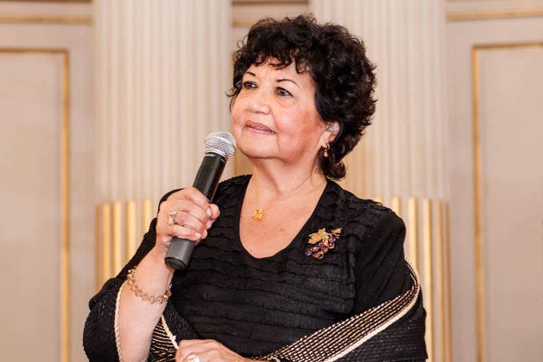 A argentina Dora Barrancos, 77, que defende a descriminalização do aborto
