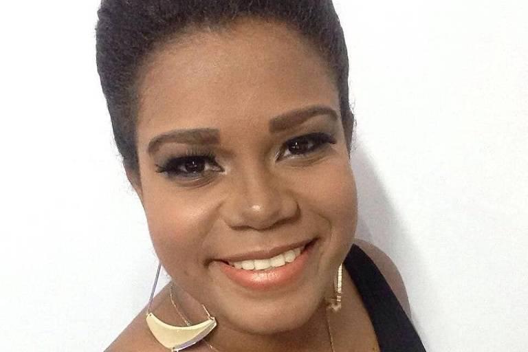 A pernambucana Alcione Alves, conhecida como rainha das narrações