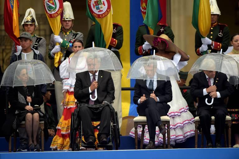 Iván Duque toma posse como presidente da Colômbia