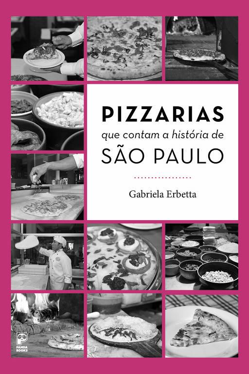 Livros de gastronomia na Bienal