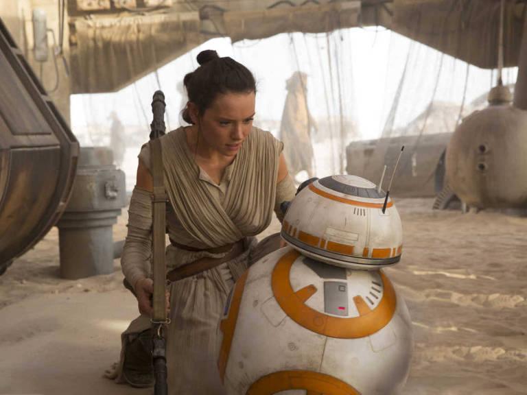 A personagem Rey, de Star Wars