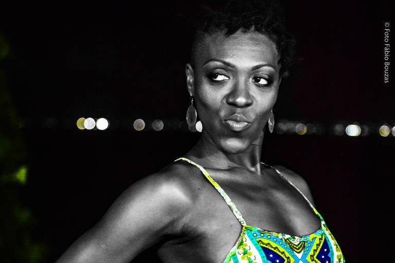 A bailarina Jaqueline Elesbão, que integra projeto na plataforma virtual Riofestiv.al