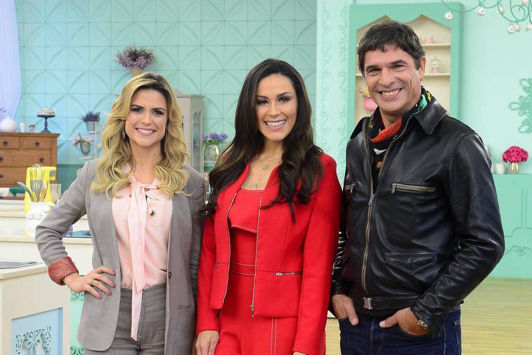 Beca Milano, Nadja Haddad e Olivier Anquier