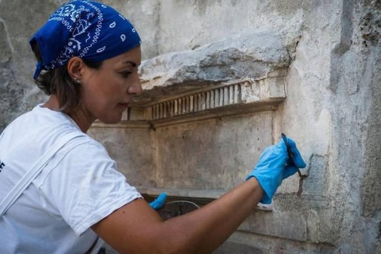 A espetacular casa de 2.000 anos descoberta sob cinzas vulcânicas em Pompeia
