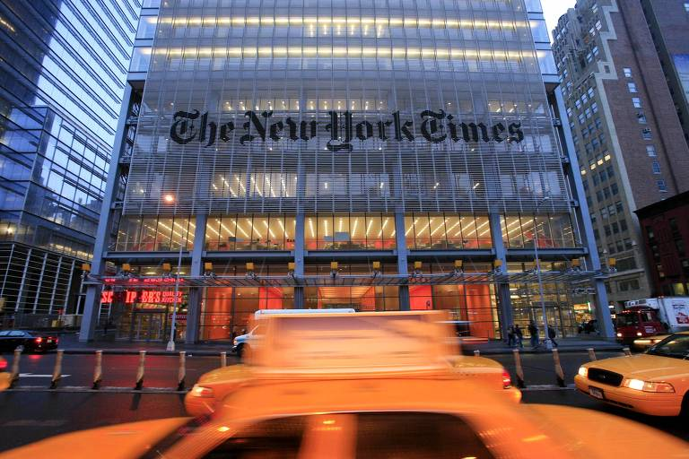 Sede do New York Times