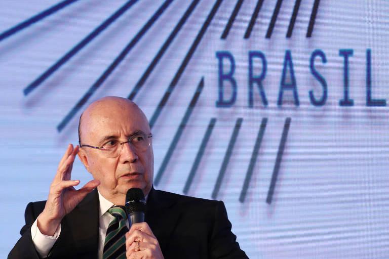 O ex-ministro da Fazenda Henrique Meirelles, candidato do MDB à Presidência, participa de seminário promovido pelo GovTech em São Paulo